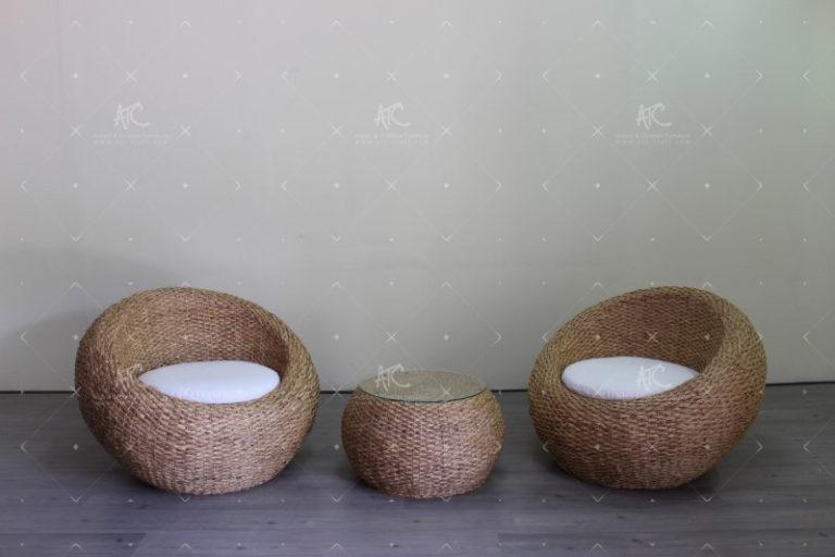 indoor water hyacinth furniture vietnam WAIS-805
