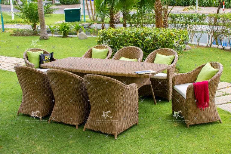 Wicker furniture outdoor RADS-026
