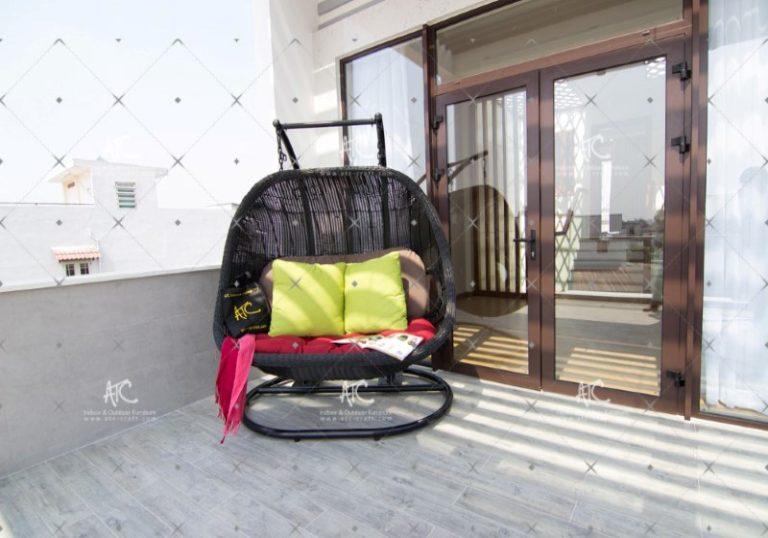 Wicker hammock hanging chair RAHM-024