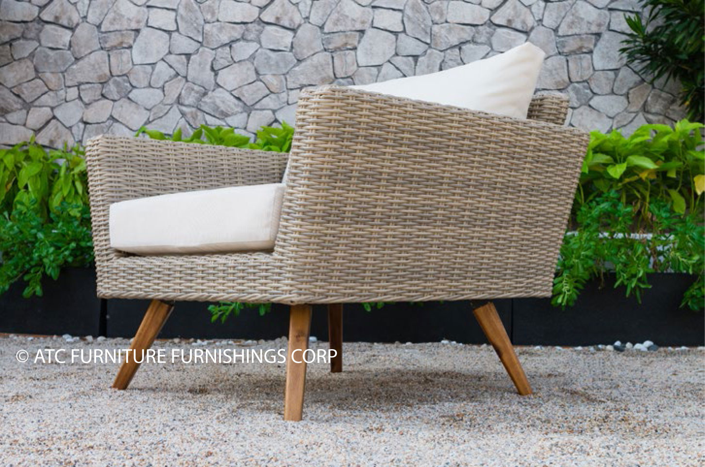 canary patio furniture rattan armchair