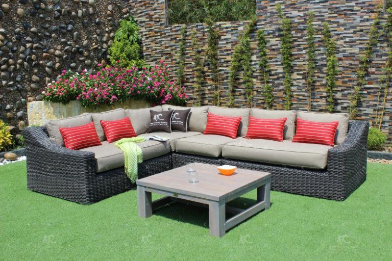 Cheap rattan garden furniture RASF-126A