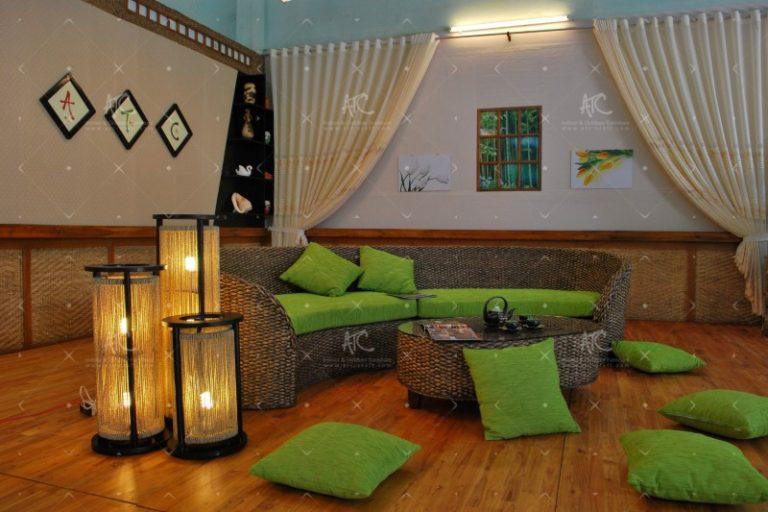 Living room sofa water hyacinth WAIS-105