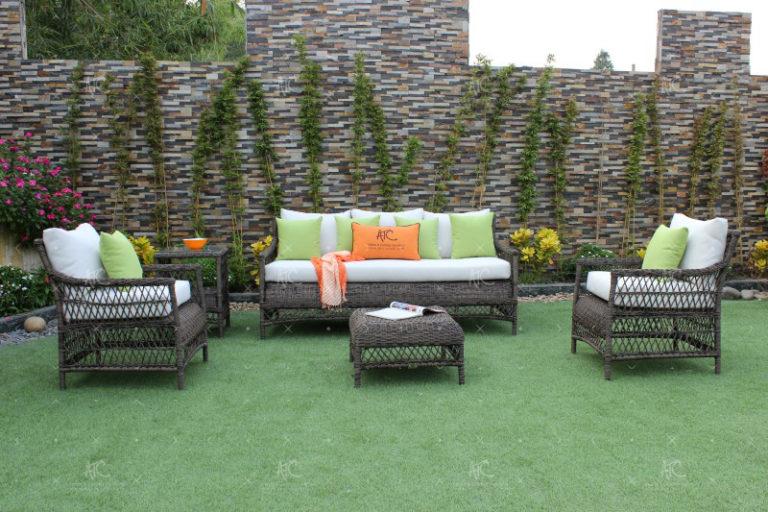 wicker outdoor furniture set RASF-040