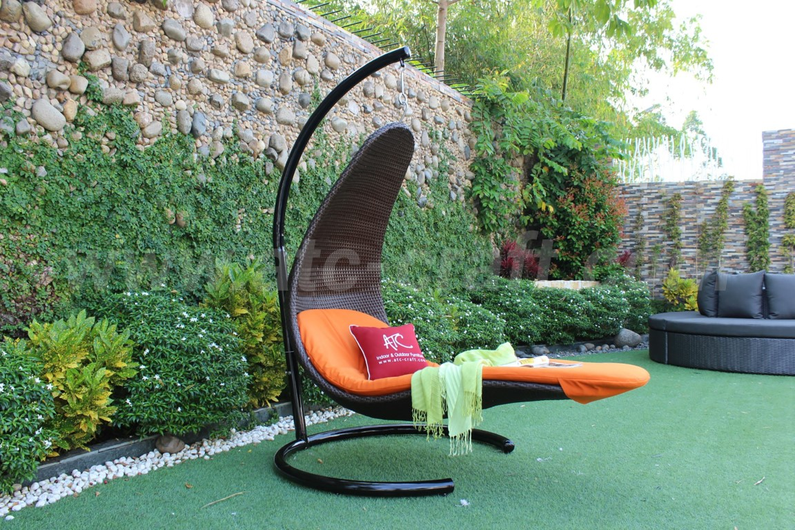 Modern Hanging Chaise Lounger For Outdoor Rahm 018 Atc Furniture