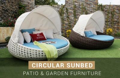 Circular Sunbed