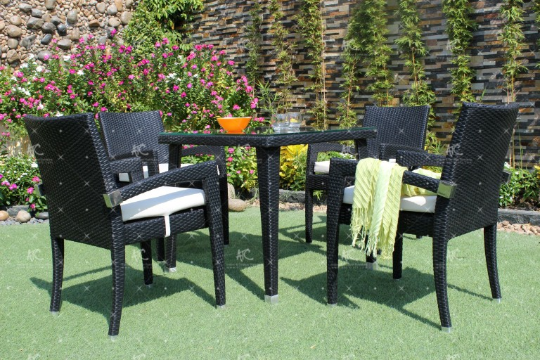 Poly rattan dining sets RADS-010