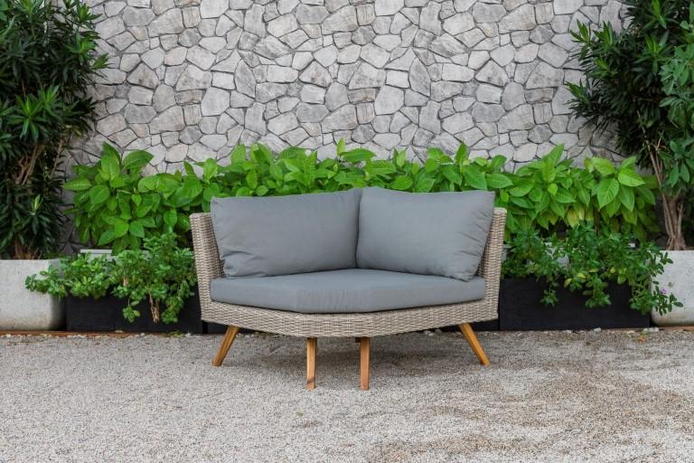 canary outdoor furniture single sofa