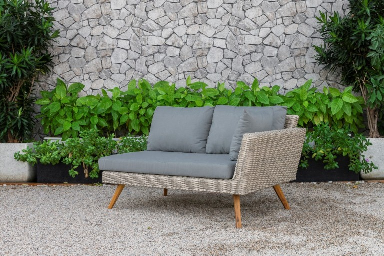 canary patio furniture single sofa