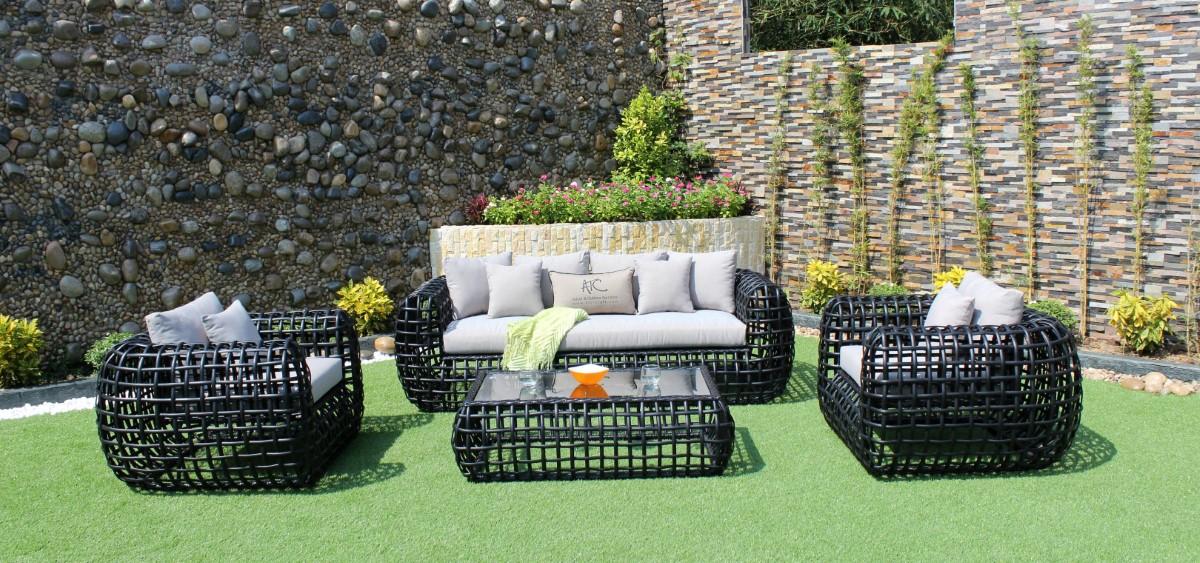 eagle patio furniture pe rattan sofa set