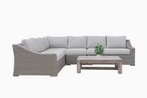 Indoor nature rattan sofa set