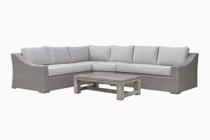 Outdoor Poly rattan sofa set