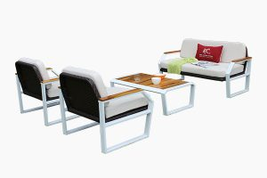 weather resistant metal frame rattan patio furniture