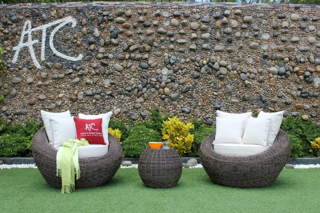 Poly rattan furniture summer collection