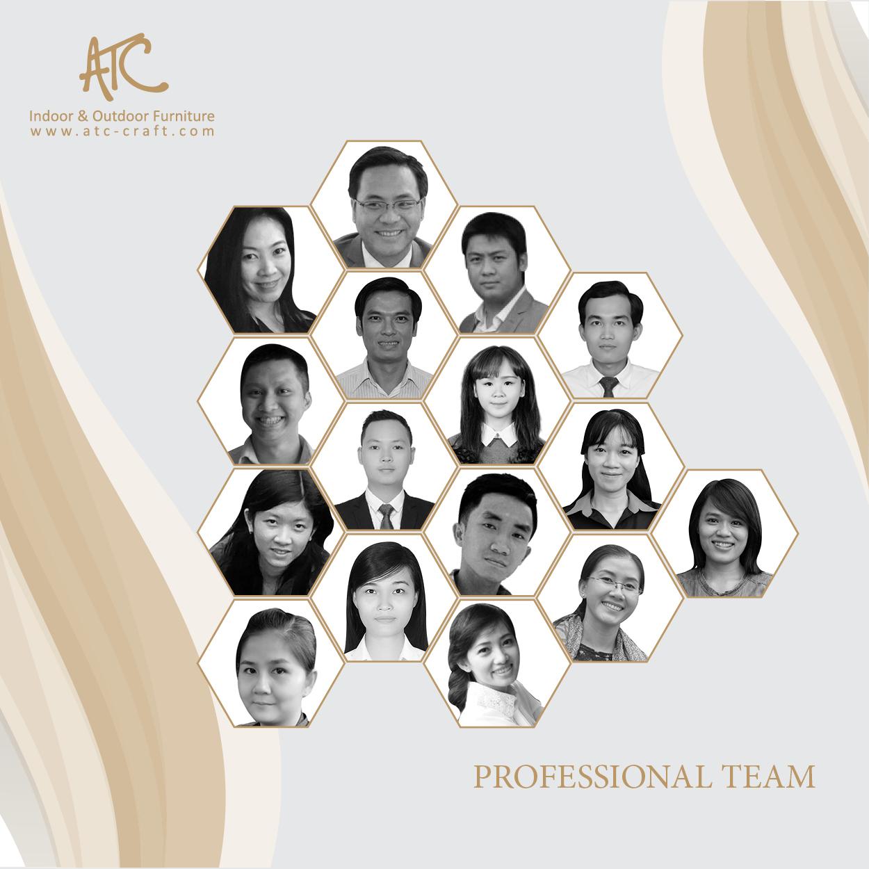 ATC Oudoor Furniture Manufacturer Corp Professional Team Photo