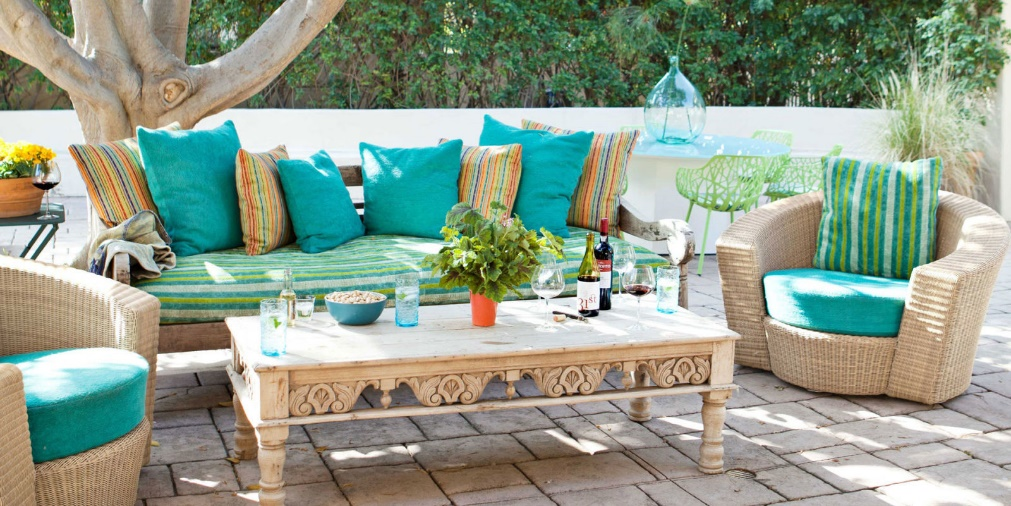 Tropical tone outdoor rattan wicker furniture