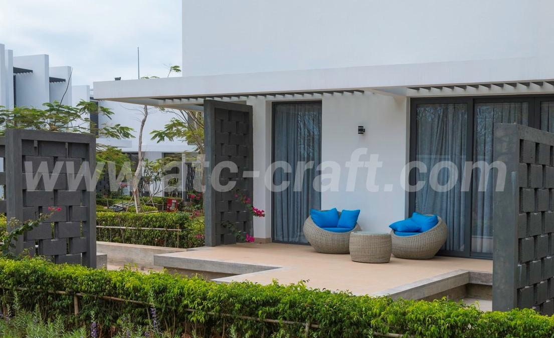 High class resorts need high grade patio furniture