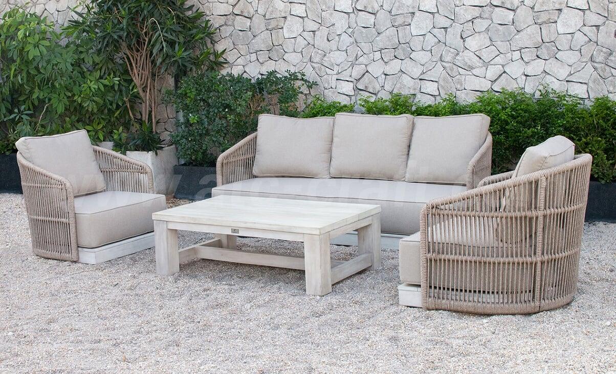 Minimalist Japanese Style Outdoor Sofa Set Rasf-184   ATC ...