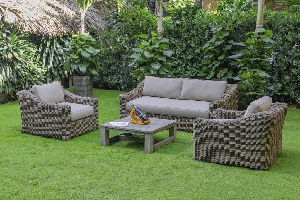 Bộ Sofa Mây Nhựa Ngoài Trời Cao Cấp từ ATC Furniture