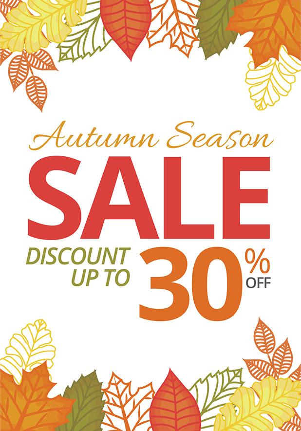Autumn Sale Promotion Discount Furniture