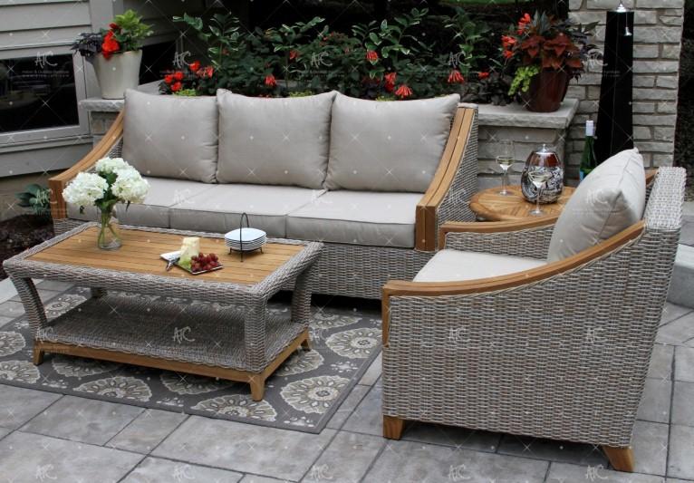 Wicker furniture for apartment RASF-149